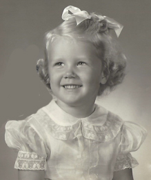 Mary Sue Rabe as Child